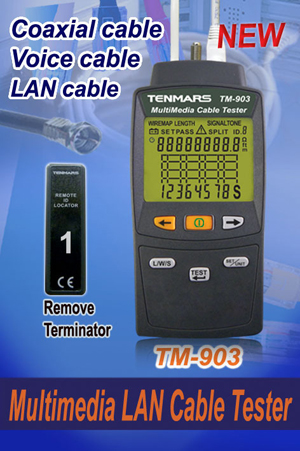 TM-902网络测试表/线缆测试仪-台
