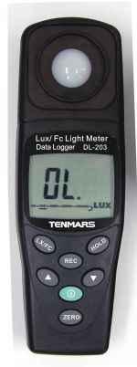 TM-203 记忆式数字照度表