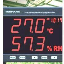 TM-185/TM-185D LED精密型温湿度