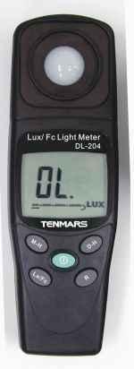 TM-204 数位照度表