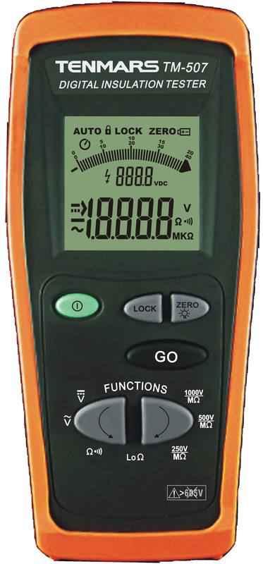 TM-507 数位高阻计