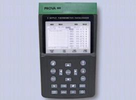 8点温度计/记录器PROVA-800