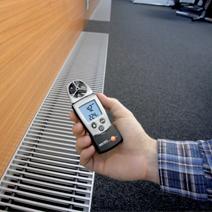 testo 410-2叶轮式风速温度湿度测量仪