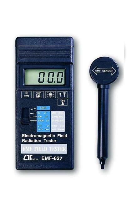 台湾路昌电磁波测试器EMF-827