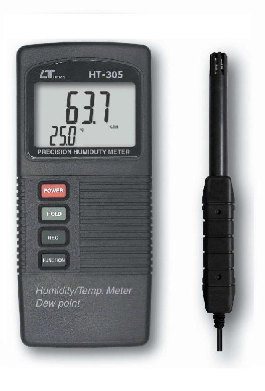 台湾路昌温湿度计-露点计HT-305