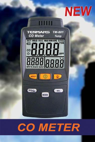 TM-801/TM-802一氧化碳侦测器-台